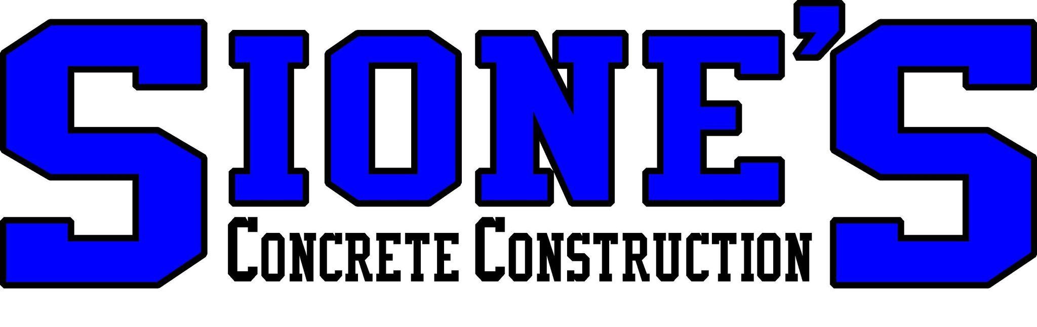 Sione's Concrete Construction